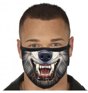Mascarilla de Hombre Lobo para adulto