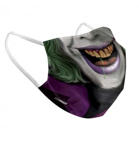 Mascarilla de Joker Batman para adulto