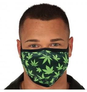 Mascarilla de Marihuana para adulto