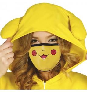 Mascarilla de Pikachu para adulto