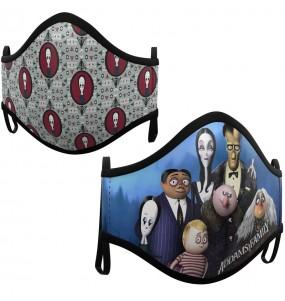 Mascarilla infantil de La Familia Addams