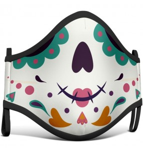 Mascarilla infantil de Catrina Cartoon
