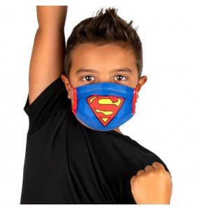 Mascarilla infantil de Superman