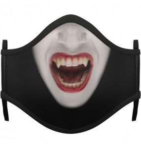 Mascarilla infantil de Vampiresa