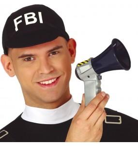 Megáfono policía con sonido