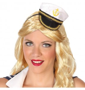 Mini Sombrero Capitán Marina