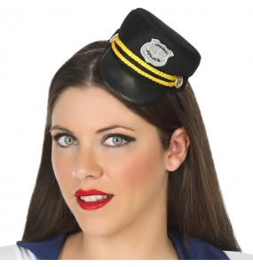 Mini Sombrero Policía
