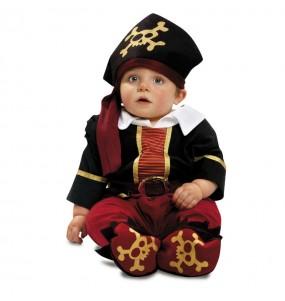 Disfraz de Capitán Pirata Bebe