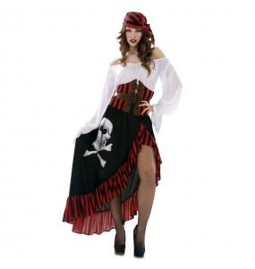 Disfraz de Pirata Bandana Mujer