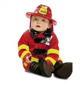 Disfraz de Bebe Bombero