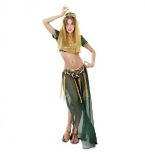 Disfraz de Chica del Harem Verde