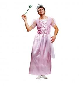 Disfraz de Princesa Rosa Travesti