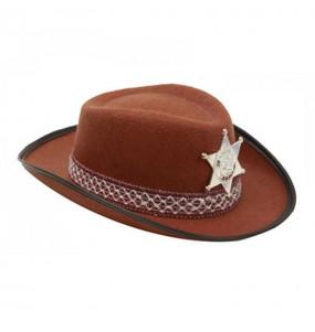 Sombrero de Vaquero Marrón Infantil