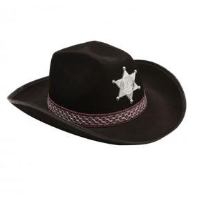 Sombrero Vaquero Negro adulto