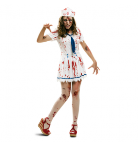 Disfraz de Marinera Zombie