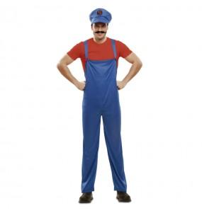 Disfraz de Súper Mario hombre