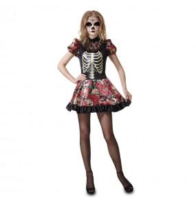 Disfraz de Calavera Mexicana Mujer