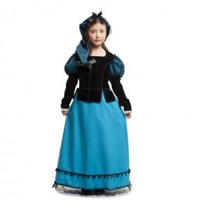 Disfraz de Dama de Época Goya para niña