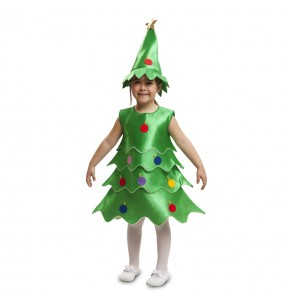 disfraz árbol navidad infantil