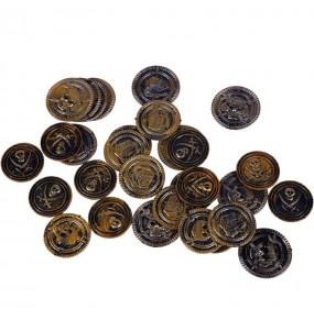 Monedas cofre pirata