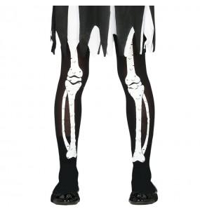 Pantys Esqueleto para niñas
