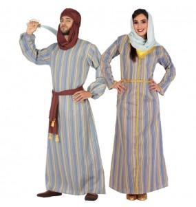Pareja Árabes del Desierto