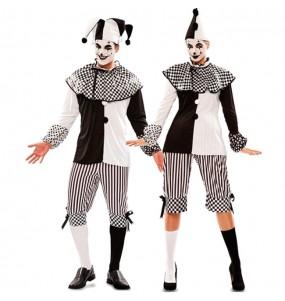 Pareja Arlequines Circo