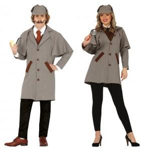 Pareja Detectives Sherlock Holmes