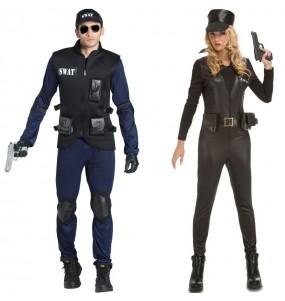 Pareja Agentes Swat