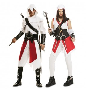 Pareja Assasin's Creed Ezio
