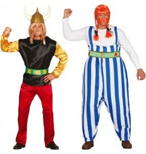 Pareja Asterix y Obélix