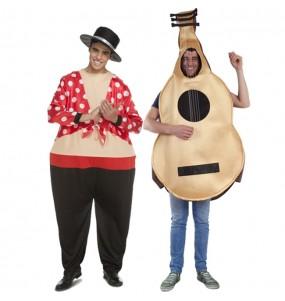 Pareja Flamencos Cómicos