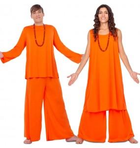 Pareja Budistas Hare Krishna