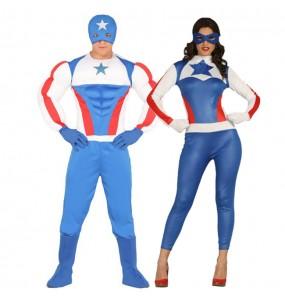 Pareja Capitán América