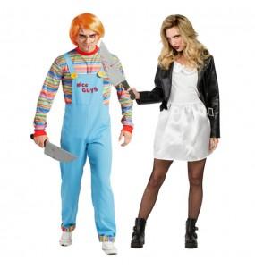 Pareja Chucky y Tiffany Muñecos Diabólicos