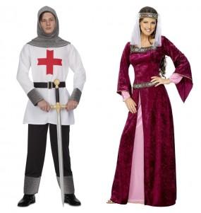 Pareja Cruzados Medievales