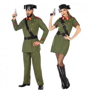 Pareja Guardias Civiles adulto