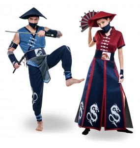 Pareja Guerreros Ninja