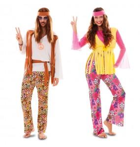 Pareja Hippies económicos para adulto
