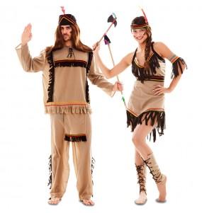 Pareja Indios Americanos para adulto