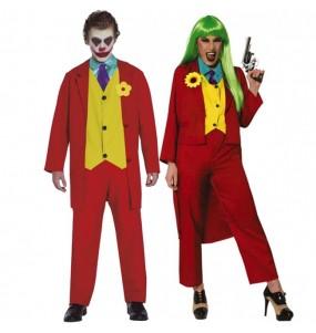 Pareja Jokers Joaquín Phoenix