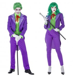 Pareja Jokers Supervillanos