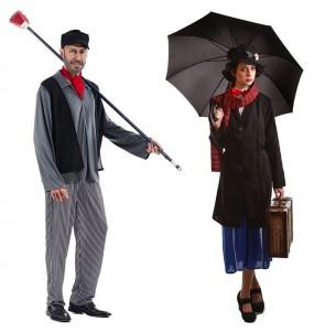 Pareja Mary Poppins y Deshollinador