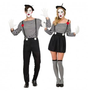 Pareja Mimos Clown