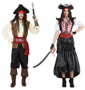 Pareja Piratas del Caribe