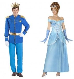 Pareja Príncipe Azul y Cenicienta