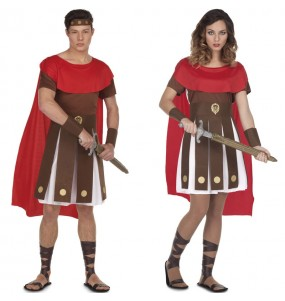 Pareja Romanos Espartanos