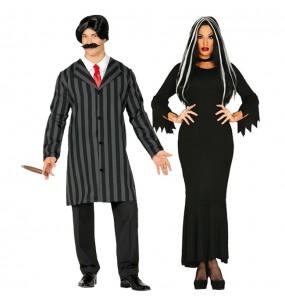 Pareja Familia Addams