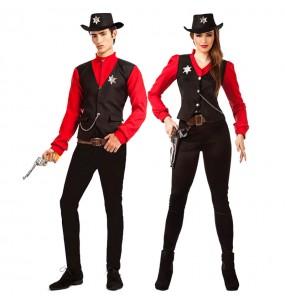 Pareja Sheriffs del Condado
