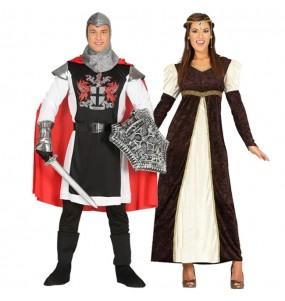 Pareja Caballero Templario y Princesa